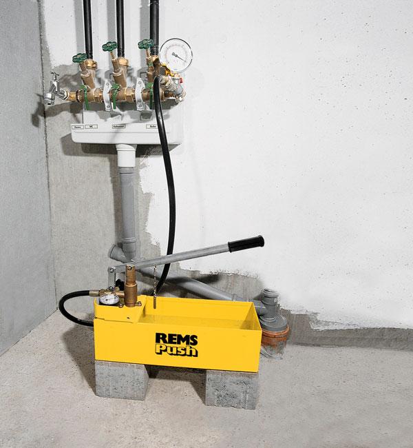 Zkušební tlakové pumpy