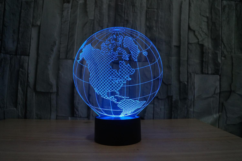 3D lampy