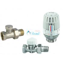 Přímý set termostatický pro radiátory klasik